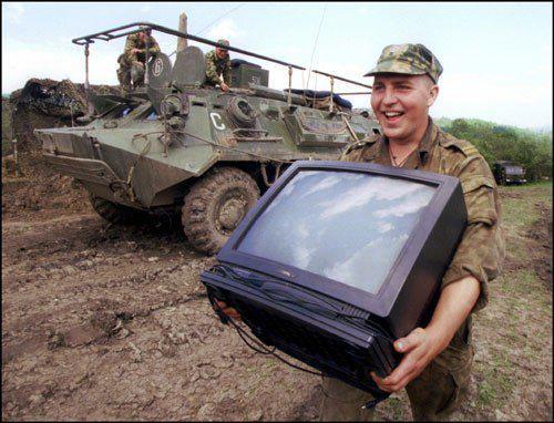 Пьяные российские оккупанты самовольно покинули часть в Безыменном и ограбили местных жителей, - разведка - Цензор.НЕТ 7834