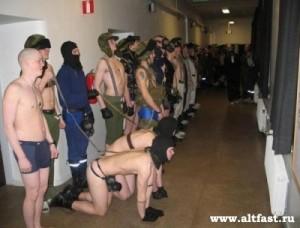 Унижения в российской армии
